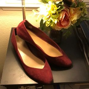 Old Navy Burgundy Flats 10